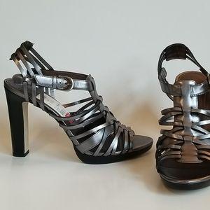 Joan and David Rosina Strappy Heels, Size 9M